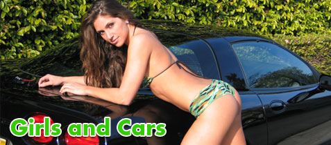 hot girls and sexy cars