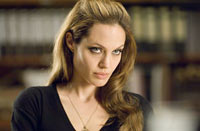 "Angelina Jolie in ""Wanted"""
