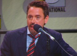 Robert Downey Jr. interview, Iron Man interview